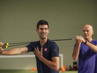Gebhart Fil Gric i Novak Djokovic